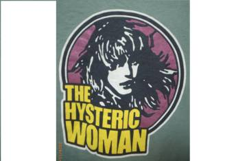 ≡HYSTERIC GLAMOUR≡THE HYSTERIC WOMANトレーナー≡USED