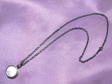 ★STANLEY GUESS スタンリーゲス Round Shell Pendant ラウンド シェル ペンダント 白蝶貝 White Shell Mother of Pearl SILVER 925